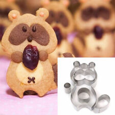 Stainless Steel Raccoon Cookie Biscuit Cutter Mould