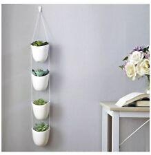 Planters Succulent Modern Ceramic Hanging Plant Pots Home Floral Decor