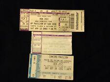 BON JOVI VINTAGE TICKET STUBS 1995-2005 Richie Sambora Tico Torres David Bryan