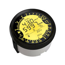 6in1 Multi-Function 85mm GPS Speedometer Tachometer Water Temp Fuel Level Gauge