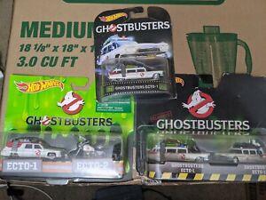 Hot Wheel Ghostbusters Echo-1 & Echo-2 set of 3