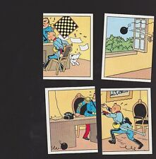 Herge Tintin Panini 1989 autocollant 4 im 77 78 79 80