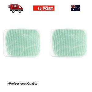 2x Face Cleansing Sponge- GLAMMAR- Green- BULK- JUMBO SIZE