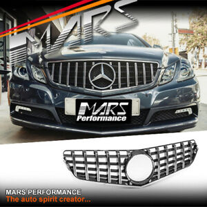AMG GT-R Look Bumper Grille Grill for Mercedes-Benz E-Class W207 C207 A207 09-13