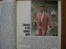1969  TV  Guide (LIBERACE/PEGGY  LIPTON/THE  MOD  SQUAD/DON MURRAY/DEANA MARTIN)