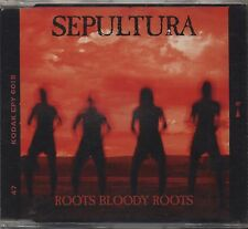 SEPULTURA - Roots bloody roots -  CDs SINGLE 1996 NEW NOT SEALED 4 TRACKS