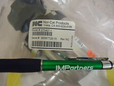 Nor-Cal 070407-1 Manual KF40 In-Line Vacuum Valve w/ Locking Handle. Brand New!