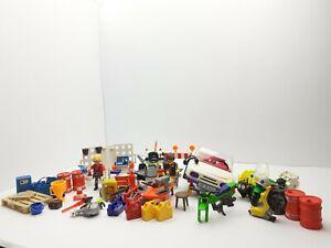 Playmobil Werkstatt Konvolut + Auto aus 3615
