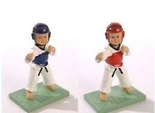 Boxing, Martial Arts & Mma Statuetta Itf Taekwondo Wtf Tae Do Karate Figures Doshu Other Combat Sport Supplies