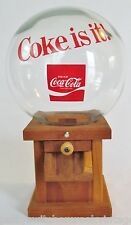 "Vintage Coca-Cola COKE Advertising Candy Dispenser W/Globe-""COKE IS IT!"""
