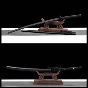 handmade Folded Steel Japanese Samurai Sword katana Full Tang Sharp Blade