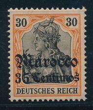 Ungeprüfte ungebrauchte Briefmarken aus dem deutschen Auslandspostamt & Kolonien (bis 1945) mit Falz
