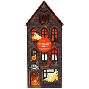 M&S Haunted Halloween Light Up House With All Butter Biscuits 230g Decoration