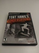 Tony Hawk's Underground (Sony PlayStation 2, Ps2 ) Complete - Black Label Clean