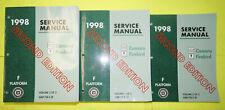New Listing1998 Chevrolet Camaro Pontiac Firebird 2nd Edition Service Shop Manual 3-Vol Set
