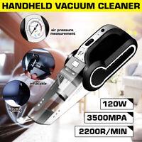 Multifunctional 4 in 1 Handheld Car Vacuum Cleaner Wet & Dry+Tire Inflator Pump
