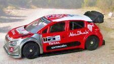 CITROEN C3 WRC Mexico 1:64 (Red/Grey racing livery) Norev Passenger Diecast Car