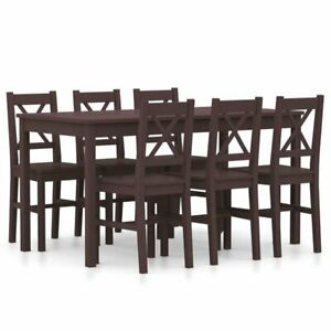Dining Set Table & Chairs 6 Person Dining Table Kitchen Furniture UK RRP £399.99