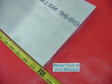 "2"" X 8"" ALUMINUM 6061 FLAT BAR 24"" long Solid T6511 2.00"" Plate Mill Stock"