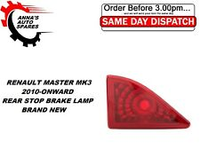 RENAULT MASTER MK3 2010-ONWARD REAR DOOR STOP 3RD BRAKE LIGHT LAMP BRAND NEW