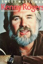 Kenny Rogers  Sweet Music Man Cassette 1985 EMI