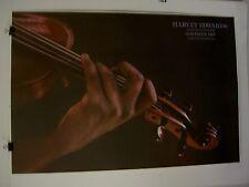 Harvey Edwards Violin poster  Lithograph Realism Vintage