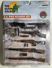 1/6 Ultimate Soldier WWII Weapons Set • Army Machine Guns • Toy