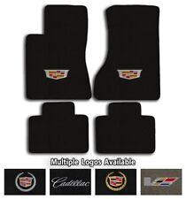 Cadillac Cars - 4pc Classic Loop Carpet Floor Mat Set - Choose Color & Logo