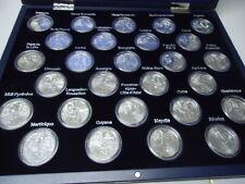 Francia 2012-todos 27 x 10 euro en plata, stgl. - 50 años regiones en caja!