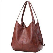 Bag Top Handle Female Women Shoulder Vintage Handbag Leather Designers Luxury