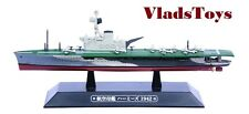 Eaglemoss 1:1100 British Royal Navy aircraft carrier Hms Hermes - 1942 #67