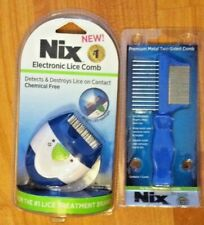 Nix Electronic Lice Comb Detects/Destroys Lice on Contact|Chemical-FreeComb
