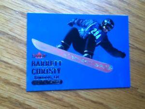 2000 Fleer Adrenaline Barrett Christy Trading Card Snowboarding X-Games Olympics