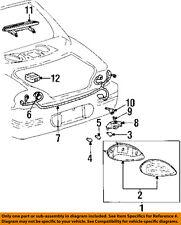 Pontiac GM OEM 97-03 Grand Prix-Taillight Tail Light Lamp Assy Right 5978572