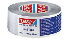 tesa 4610 Gewebeband Panzertape Duct Tape, 50mm x 50m, silber