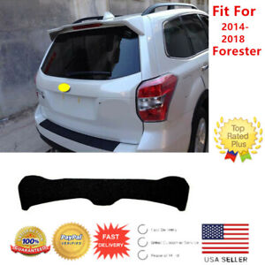 Fit for Subaru Forester 2014-2018 Factory Style Matte Black Roof Spoiler Wing