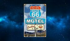 Route 66 Motel Road Sign Fridge Magnet. NEW. USA