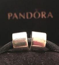 PANDORA STERLING SILVER SMOOTH CLIPS PANDORA CLIPS SET RETIRED PANDORA CHARMS