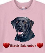 T-Shirt - -  Black Labrador - - Men Women Adopt Animal Cat # 46