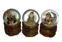 Mini Santa Father Christmas Snowglobe / Snow Globe 5x7cm Stocking Xmas Gift