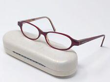 Giorgio Armani Rx Eyeglasses GA385 69N Red Brown Full Rim Oval 49[]15-135