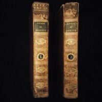 Voyages de Polyclète, reliure aux armes par le Baron Alexandre de Théis, 1822