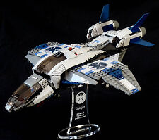 Marvel Lego 6869 Quinjet Aerial Battle - custom display stand only