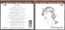 CD MISTINGUETT 14T BEST OF COLLECTION DOUCE FRANCE RETRO TBE