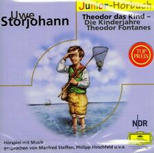 HÖRBUCH-CD NEU/OVP - Theodor das Kind - Die Kinderjahre Theodor Fontanes