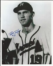 Bob Taylor Milwaukee Braves Signed Auto 8x10 Photo Autograph
