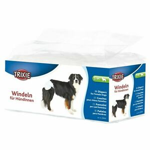 Trixie Female Dog Diapers/Disposable Incontinence Nappies, S-M 28-40cm - 12 Pack