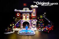 LED Lighting Kit for LEGO ® Winter Village Fire Station set 10263