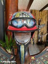 Chopper Helm Gr M  Bikerhelm Bulzeye CASCO HELMET CASQUE BIKER Size.M