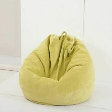 Lazy Sofas Cover  With Inner Liner Warm Corduroy Lounger Seat Bean Bag 70x80cm